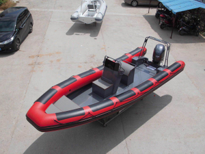 23.5FT Long Cheap price Aluminum Hull RIB Boat For Sale