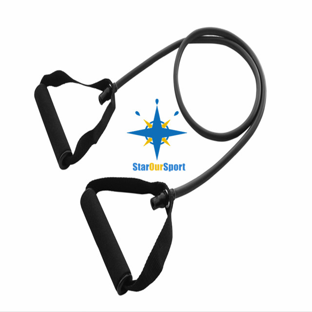 8 shaped Chest Developer Fitness Resistance Bands Exercise Tube expander for pulling sport tube equipment
