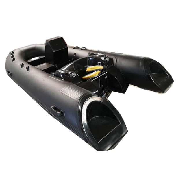 Chinese Factory Fiberglass Hull Rigid Inflatable Boat Rib