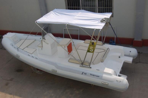 CE Rubber Rib580 Hypalon Inflatable Boat