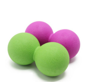 Christmas gifts Fitness Massage Peanut Ball Women Yoga Peanut Massage Ball